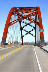 Sauvie Island bridge Oregon.
