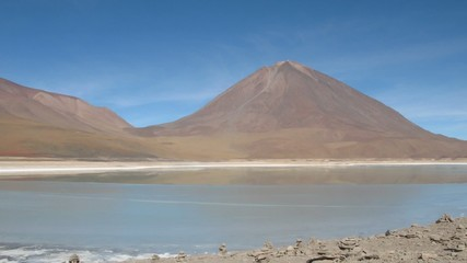 Laguna Verde , Altiplano, Potosi area, Bolivia