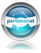 Bouton PARTENARIAT (Poignée de Mains Contrat Business Clients)