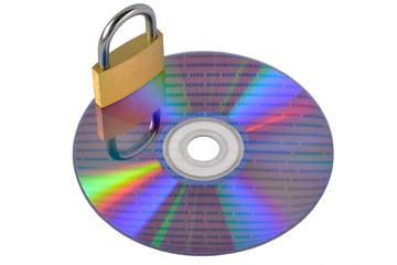 dvd con lucchetto