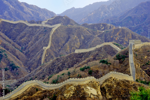 China the great wall Badaling