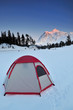 Tent and mt shuksan