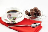 coffee and cocolate candy