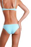Beautiful slender female body poster