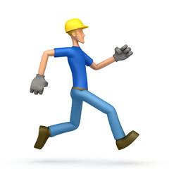 builder runs