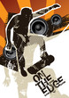 roleta: Poster with skateboarder