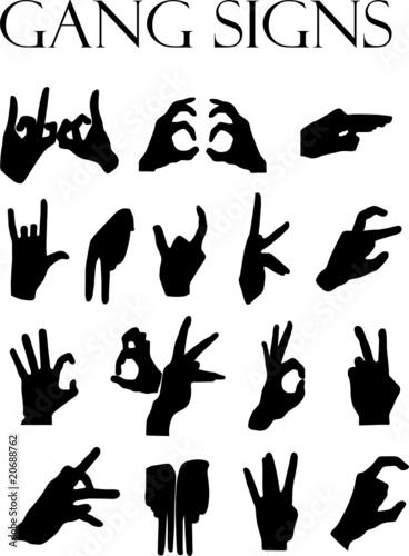 Gang signs quot im 225 genes de archivo y vectores libres de derechos en