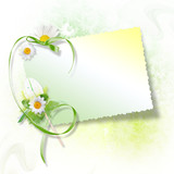 Fototapety Easter greeting card