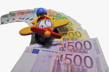 Geld, Billigflieger