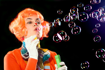 Bubbles, bubbles.