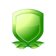 Green Shield Emblem