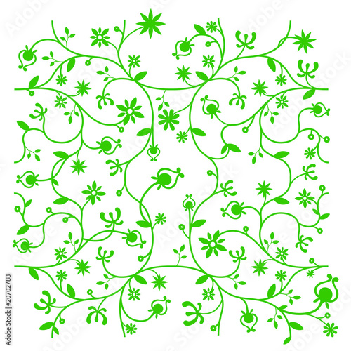 papier peint motif vegetal motif en tissu. Black Bedroom Furniture Sets. Home Design Ideas