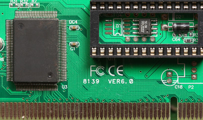 Chips on the printed-circuit-board