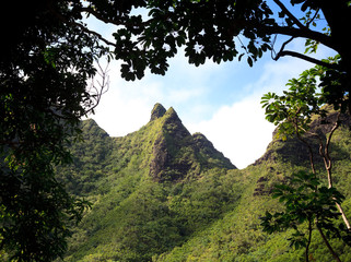 Na Pali Mountains