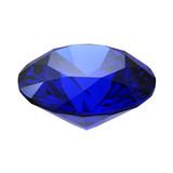 Sapphire gemstone poster