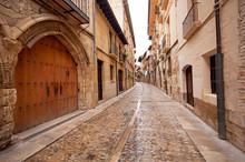 """Постер, картина, фотообои """"Old town in Spain"""""""