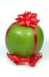 Apfel als Geschenk