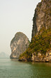 Karst Islands in Halong Bay