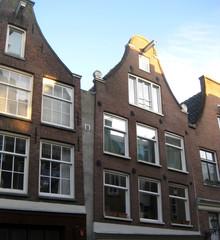 Tipiche case ad Amsterdam