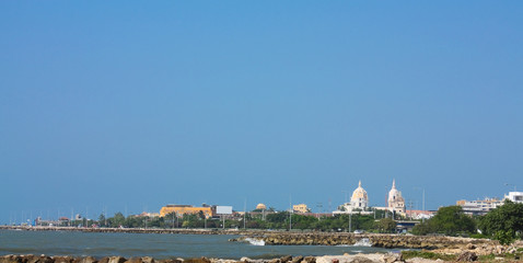 Cartagena de indias. Panoramic