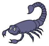 Scorpion, Skorpion, Escorpion, Scorpio, Sternzeichen poster
