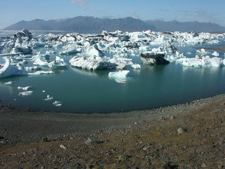 Gletschersee Jökulsárlón, Island