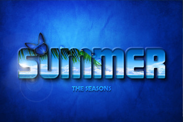 summer background - The seasons collection