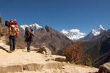 Trekking vrátní na cestě do základního tábora, Nepál