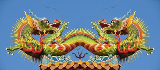 statue de dragon