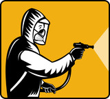 Pest exterminator pesticide poster