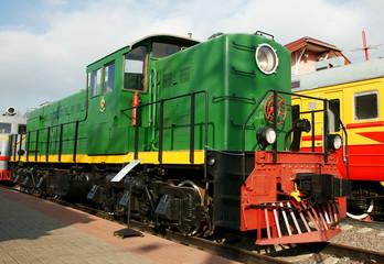 Diesel engine - the locomotive