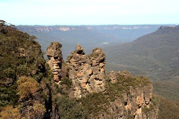 The Three Sisters formation in Victoria. (Australia)
