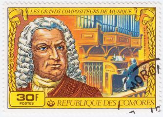 Stamp Johann Sebastian Bach
