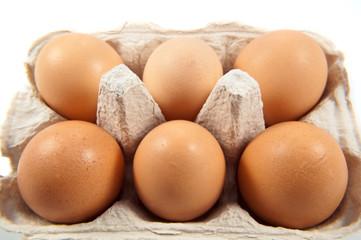 Half dozen eggs.