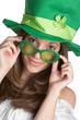 Playful St Patricks Girl
