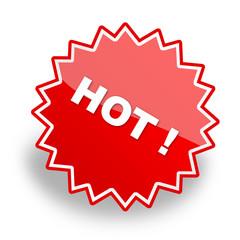hot icon & button & label