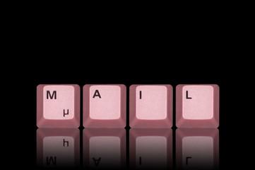 E-Mail rot gespiegelt