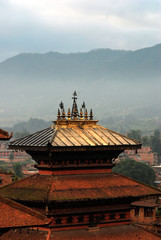 Morning of durbar square,nepal