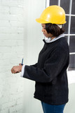 Female Construction Inspector poster