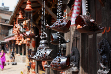 Wooden fish Sculpture of bhaktapur,nepal