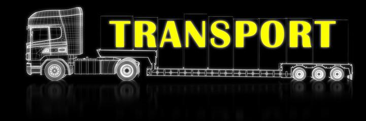Transport - 3d-Konstruktion