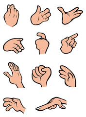 hands poses