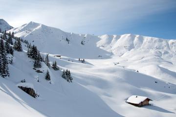Einsame Winterlandschaft