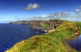 Fototapety Cliffs of Moher - highest cliffs in Europe