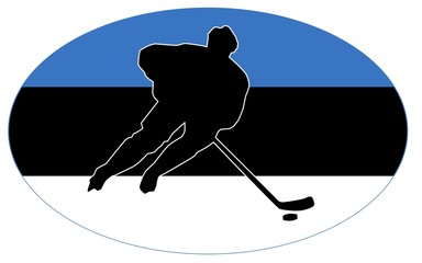 hockey colors of Estonia