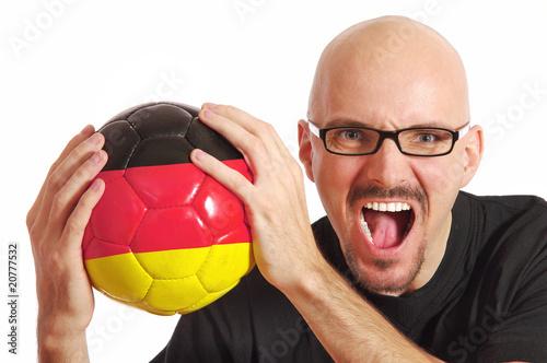 Poster Fußballfan