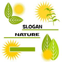 slogan nature