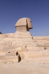 Perfil Esfinge, Egipto