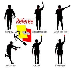 Calcio; arbitro