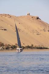 Nilo paisaje tipico en Aswan
